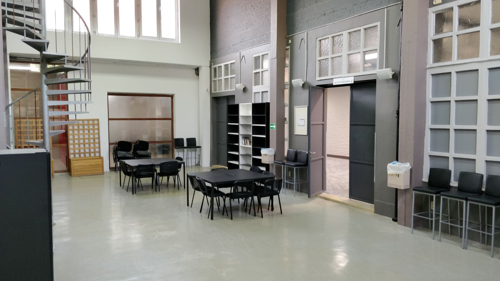 Aire de repos / Bibliothèque - Markaz Al-Forqane
